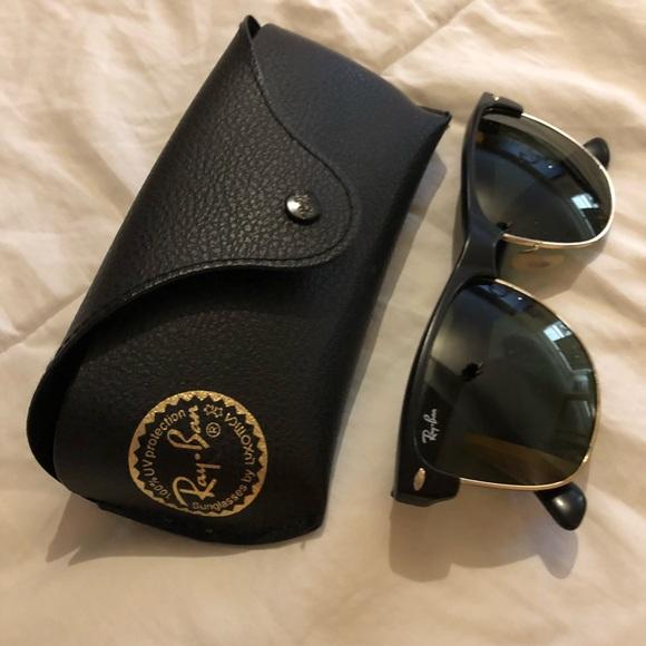 606757f03e4f Ray-Ban Accessories | Rayban Clubmaster Large Sunglasses | Poshmark